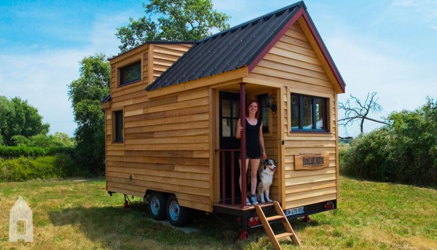 roulotte moderne une de keg. Black Bedroom Furniture Sets. Home Design Ideas
