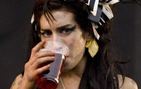 Amy WineHouse - The V Festival, Weston Park, Staffordshire, Britain - 26 Jul 2011 - Duncan Bryceland / Rex /REX/SIPA