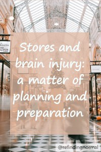 pin stores and brain injury