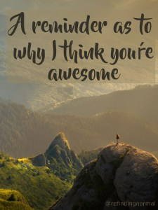reminder you're awesome