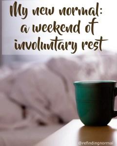 involuntary rest pin