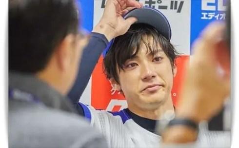 山田裕貴の始球式