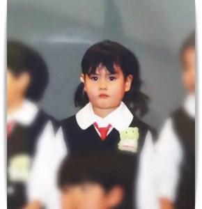 橋本愛の幼少期画像