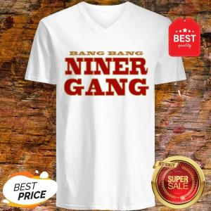 San Francisco 49ers Bang Bang Niner Gang V-Neck