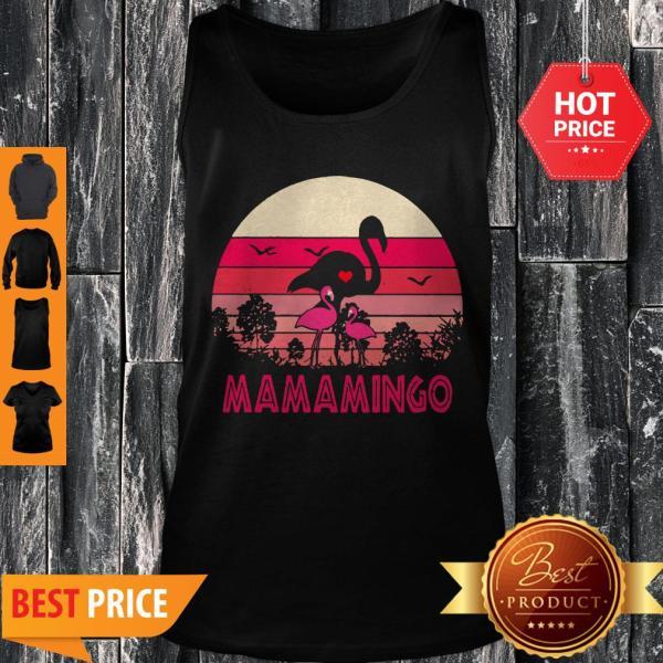 Good Flamingos Mamamingo Sunset Tank Top