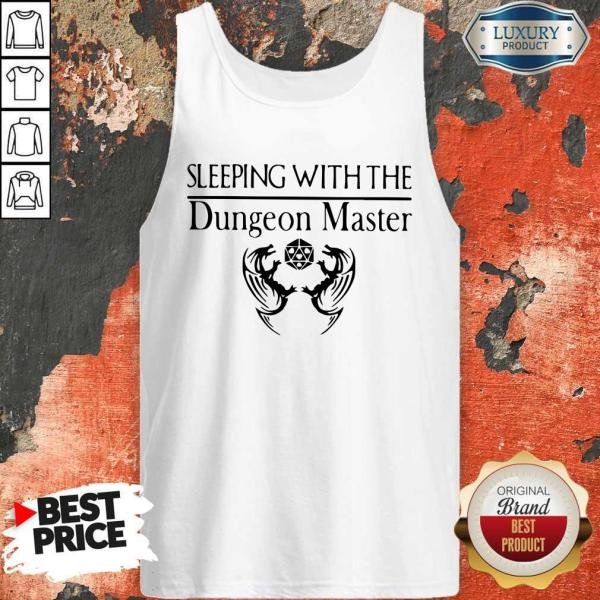 Pretty Sleeping With The Dungeon Master Tank Top