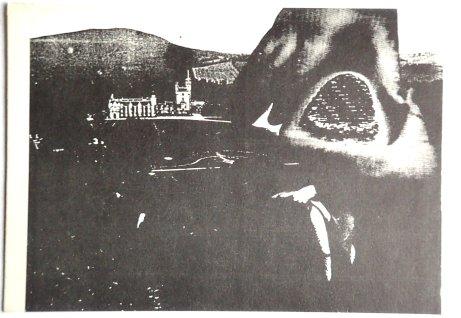 G.P.Orridge COU/M/YSTERY Postkarte Vorderseite (Sammlung P. Prothmann)