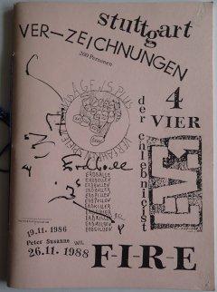 Ver-Zeichnungen, 1988