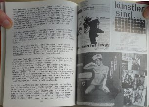 """Beitrag von albrecht/d. in """"Politische Collage - Künstler in Baden-Württemberg, Württembergischer Kunstverein Stuttgart 1983"""