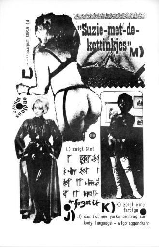 Seite aus BODY WORKERS 1975