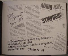 """Kopierte Collage eines Artikels in """"Ketchup"""" in """"mein Fotoalbum 1973-1993"""", Sammlung Christa Düwell"""