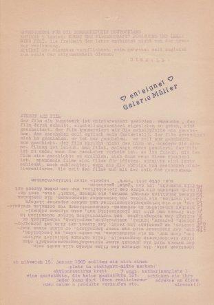"""""""Eigentum verpflichtet"""", Flugblatt mit mehreren Themen 1969, Sammlung Decker"""