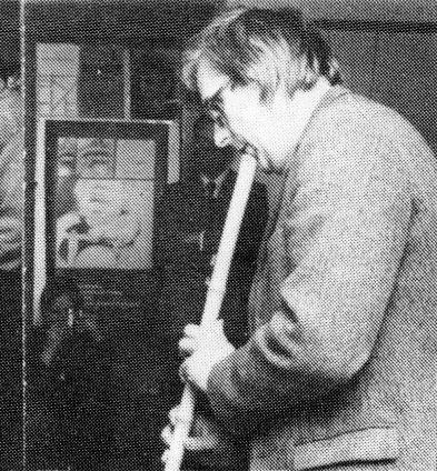 Albrecht/d. am 19.04.1980 im Zwinger, St. Wendel