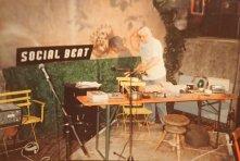 """Auftritt (mit Mark-Steffen Bremer) auf dem Social Beat Festival 1994 in Ludwigsburg, angekündigt als """"Soft Entertainment"""""""