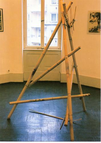 Die Wunderbare Welt des Bambus. Bespielbare Bambusplastik, 1985