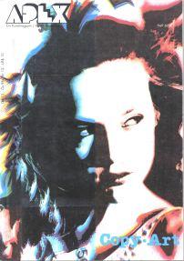 Das Kunstmagazin APEX widmete seine Ausgabe 6/89 mit 132 Seiten komplett dem Thema Copy-Art