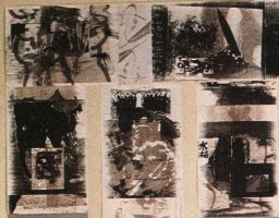 """erotique - neurotique"", im Goethe-House New York 1988, Detail"