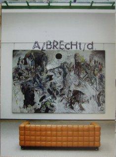 Kunstpostkarte der Staatsgalerie Stuttgart, bestempelt