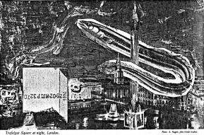ZEN for a fish - Trafalgar Square, Fotokopie