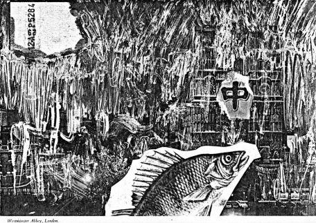 ZEN for a fish - Westminster Abbey, Fotokopie