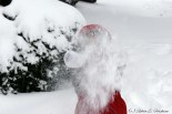 An explosion of snow