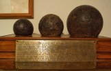 Canons-There were found on the Battlefield