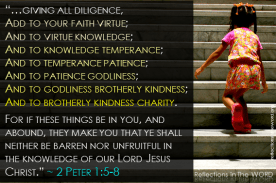 2 Peter 1:5-8
