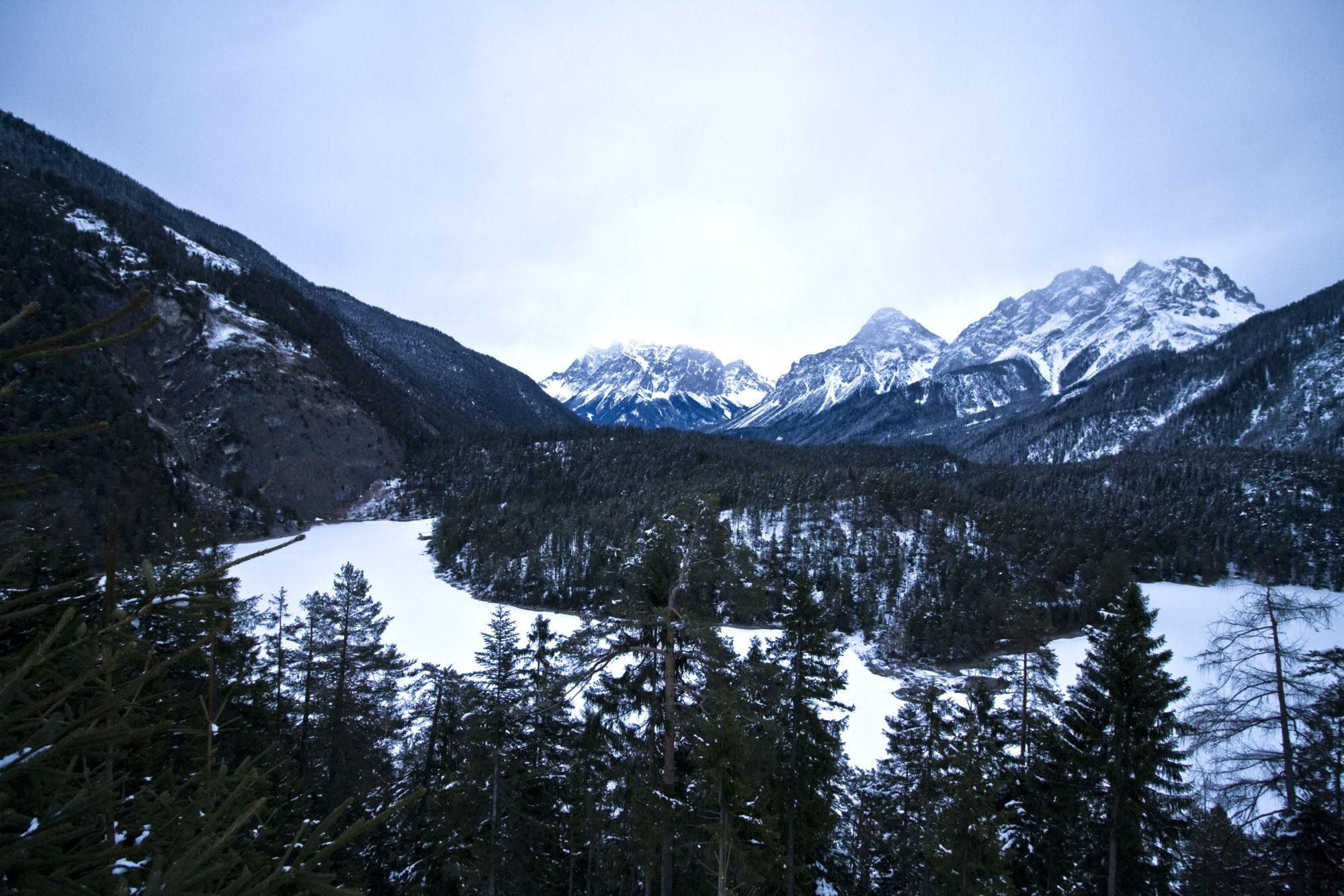 Alps near the Austria/Germany border