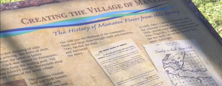 Hundreds of years of Florida history being uncovered at Manatee Mineral Spring