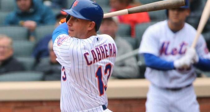 Asdrubal Cabrera, New York Mets