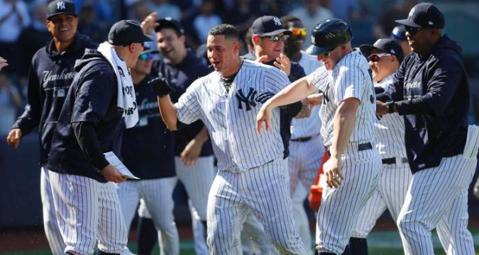 Gary Sanchez Walk-Off Win 4/26/18