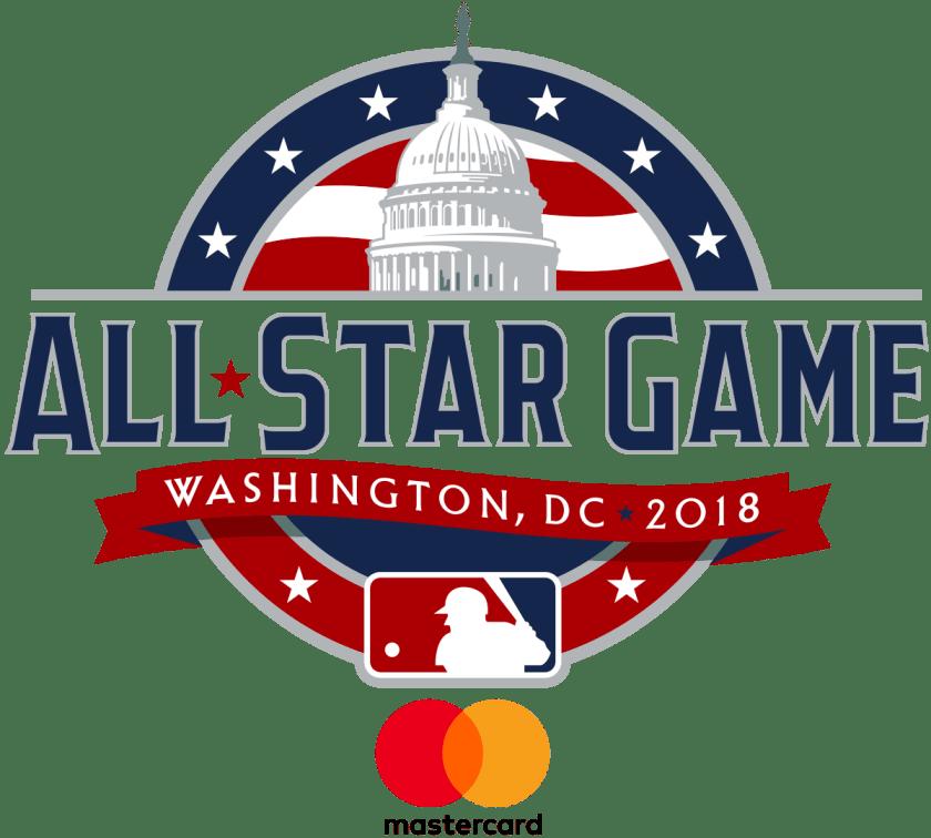 MLB All Star Game Logo 2018