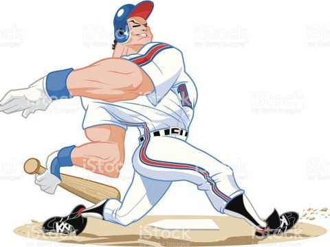 Home Run Derby Photo Credit: Stock Vector Art