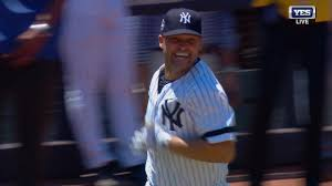 Nick Swisher, Old Timers Day 2018 Home Run Photo Credit: MLB.com