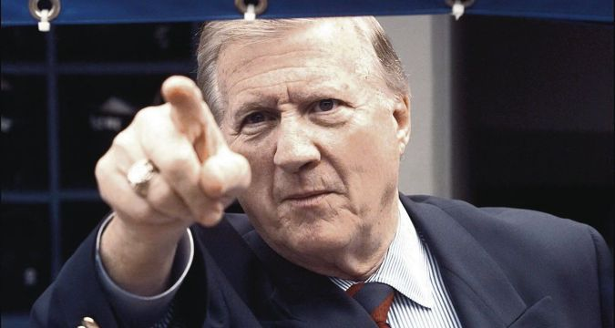 Rest easy, it's okay George M. Steinbrenner Photo Credit: New York Daily News