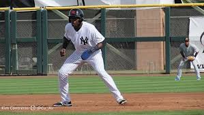 Estevan Florial, Yankees Baby Bomber Photo Credit: NJ.com