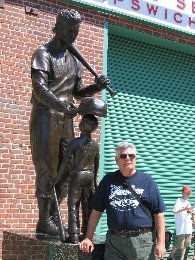 At Fenway with the Greatest Hitter Who Ever Lived