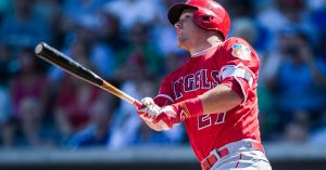 Mike Trout, 2021 Free Agent Photo Credit: Los Angeles Times
