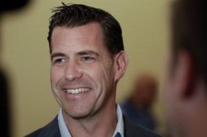 Brodie Van Vagen, Mets GM Photo Credit SNY TV