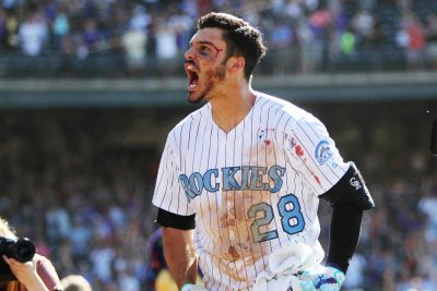 Nolan Arenado, A Player's Player Chris Humphreys-USA TODAY Sports