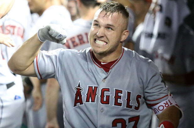 Mike Trout, the best ballplayer on the planet. Photo Credit: New York Post