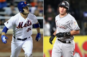 Michael Conforto, Mets J.T. Realmuto, Marlins Photo Credit: New York Post