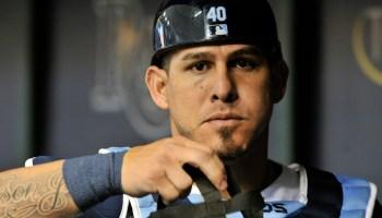 Wilson Ramos, Catcher, New York Mets Photo Credit: Steve Nesius/Associated Press