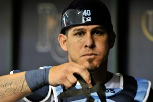 Wilson Ramos, Catcher, New York Mets Photo Credit: Steve Nesius/Associated Press