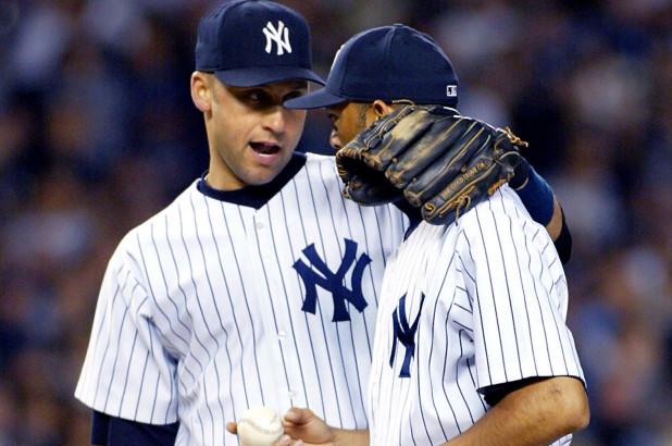 Derek Jeter and Mariano Rivera (Photo Credit: New York Post)