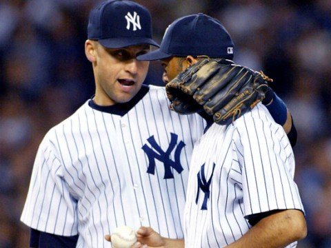 Derek Jeter and Mariano Rivera (Photo Credit: New York Post)
