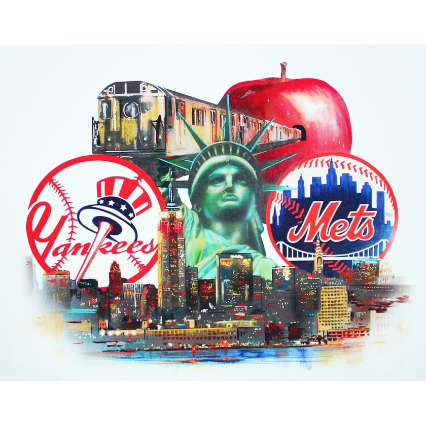 New York's Mets and Yankees (Photo: iCollector.com)