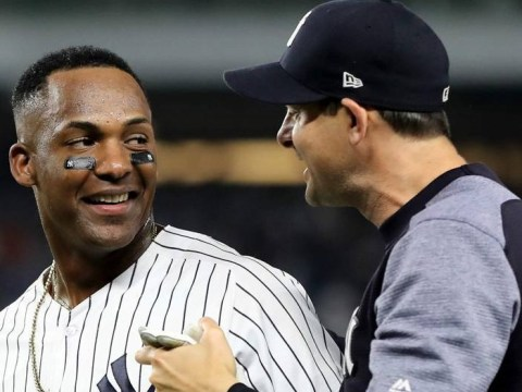 Miguel Andujar, Yankees Offensive Leader 2018 (Photo Credit: Sporting News)