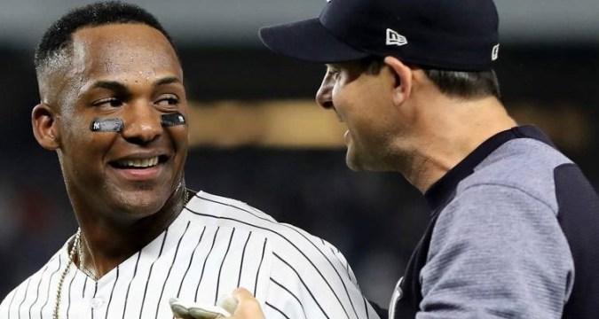 Miguel Andujar, Yankees Offensive Leader 2018 (Photo Credit: Sporting News)