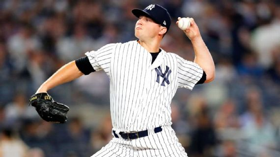 Zack Britton, New York Yankees (Paul Bereswill/Getty Images)